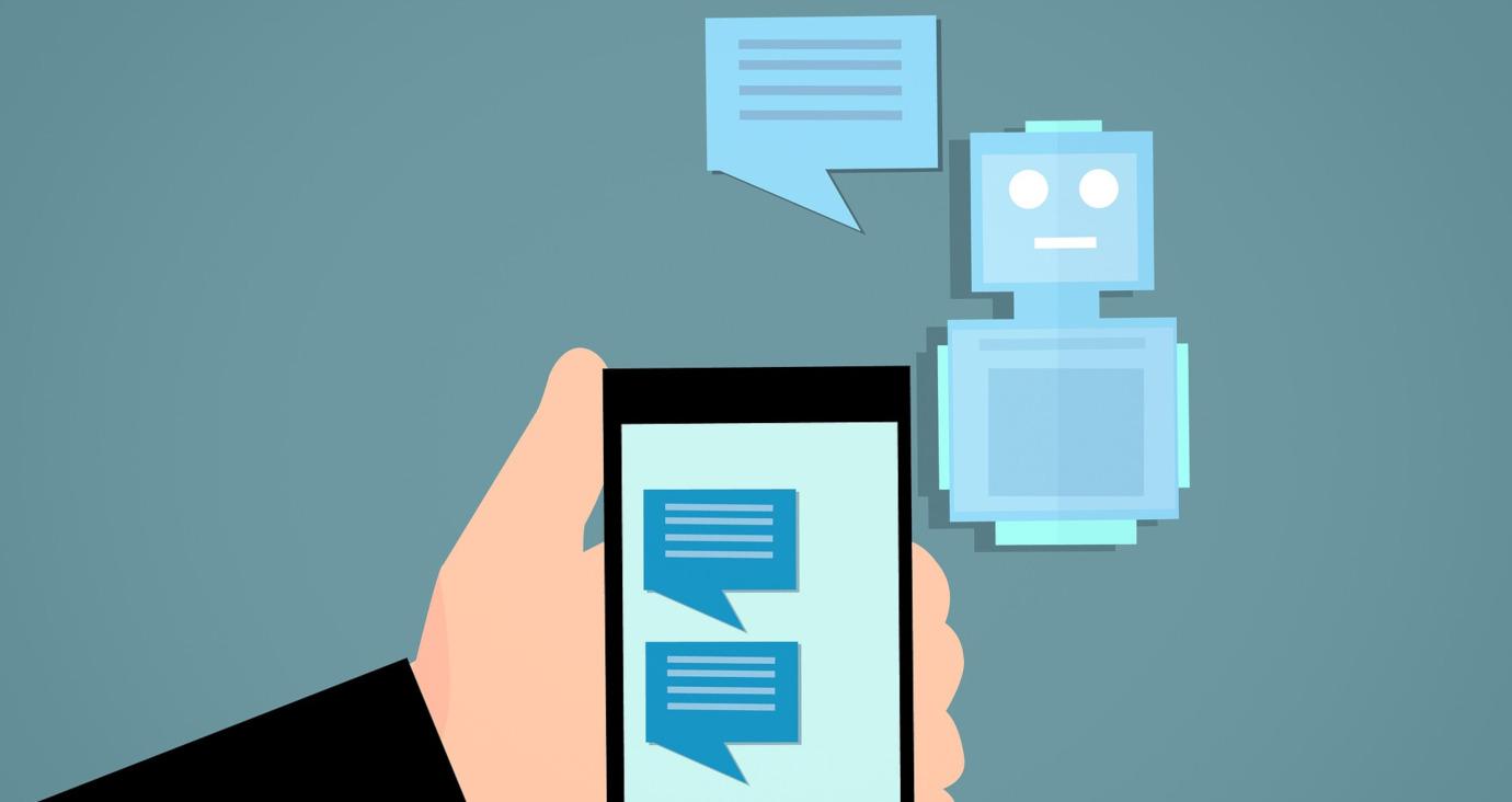 Dialog mit einem Chatbot