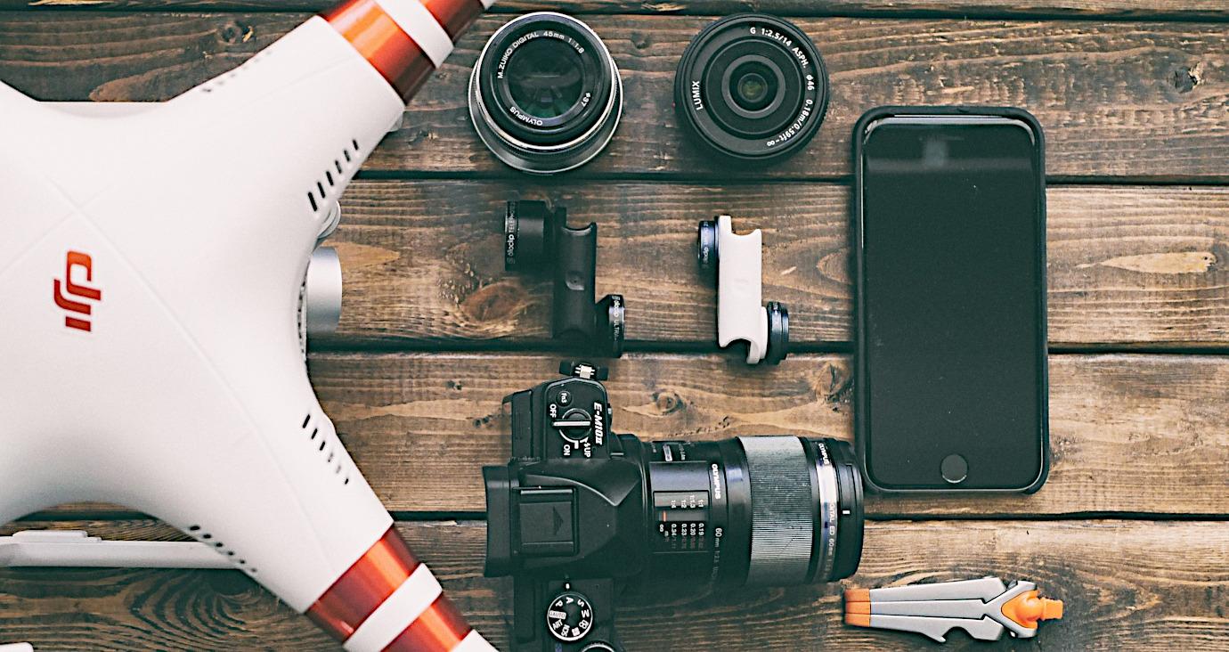 Ausrüstung für Bewegtbild Videoproduktion